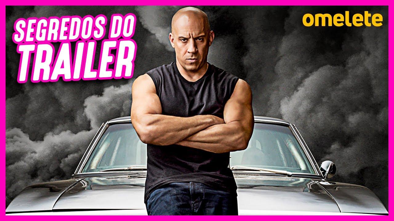 VELOZES E FURIOSOS 9 - TRAILER COMENTADO