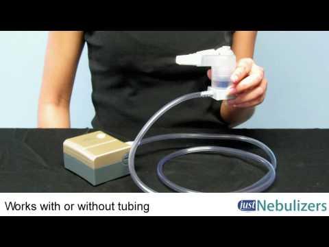 Just Nebulizers: Respironics MicroElite Portable Nebulizer System