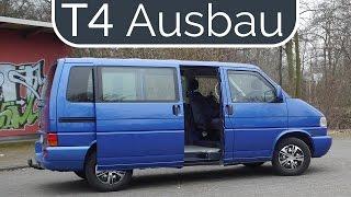 Planung VW Bus T4 Camping Ausbau