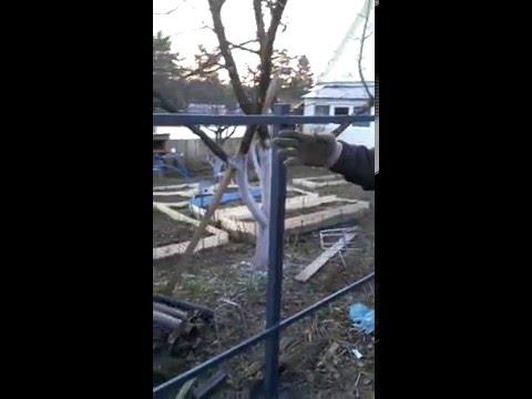 Заборы и навесы в Серпухове 001