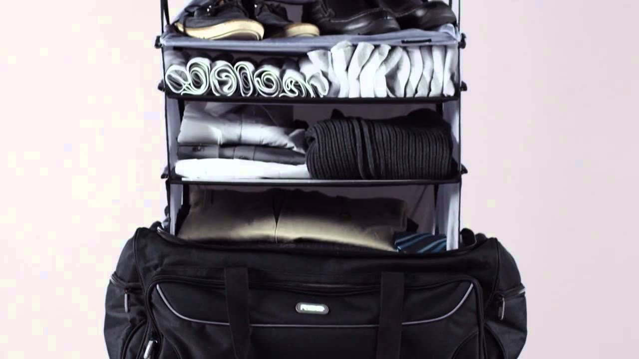 Rise Gear Roller Travel Bag With Collapsible Shelves Ebags