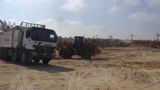 New Suez Canal, Egypt: the first    Drilling             site 2014