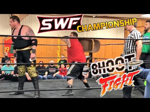 That Moment Pro WRESTLING GOT REAL!  GRIM vs TJ MARCONI Championship Match!