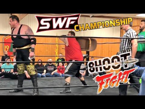 That Moment Pro WRESTLING GOT REAL!  GRIM versus TJ MARCONI Championship Match!