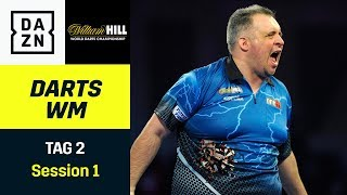 Stromausfall und Michael Barnards Marathon-Match | Darts WM | Tag 2 Session 1 | DAZN