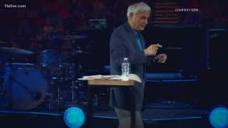 Vice President Mike Pence attends memorial service for Ravi Zacharias