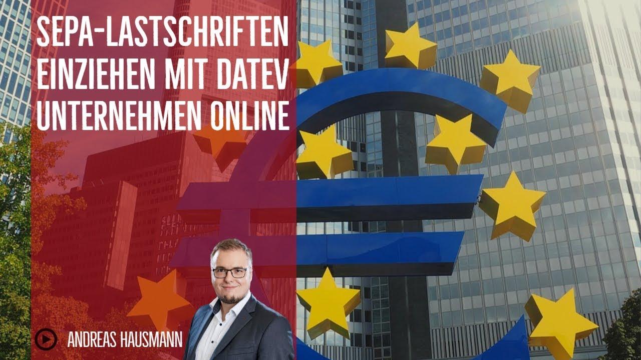 Lastschrift Online