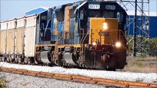 SD40-2 Stalls While Trying To Pull A Monster GR-1 Train Into Ridgewood Plant
