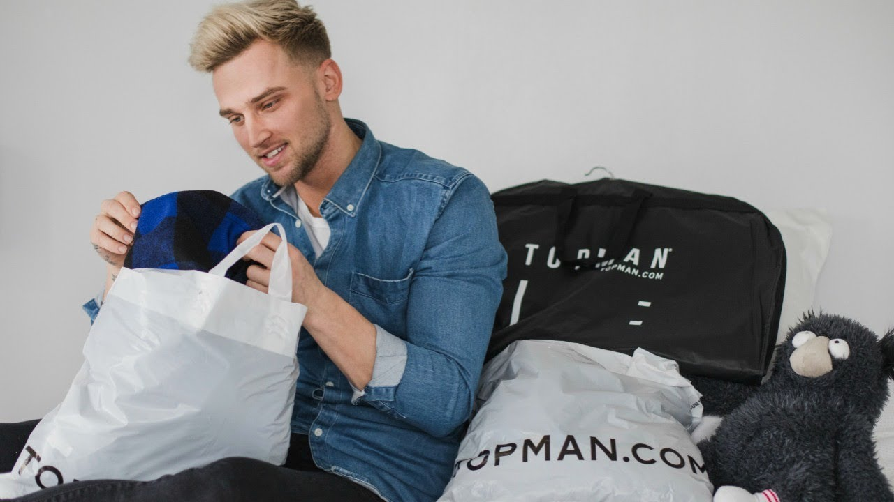 Mens Affordable Topman Try On Haul Valentines Day Outfit Ideas