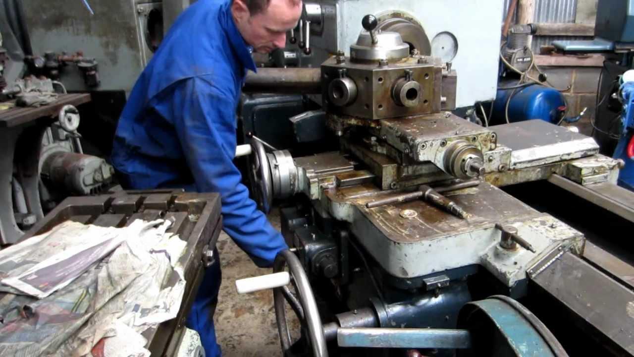 Broadbent Schofield Heavy Duty Gap Bed Lathe Nobilla Machine Tools