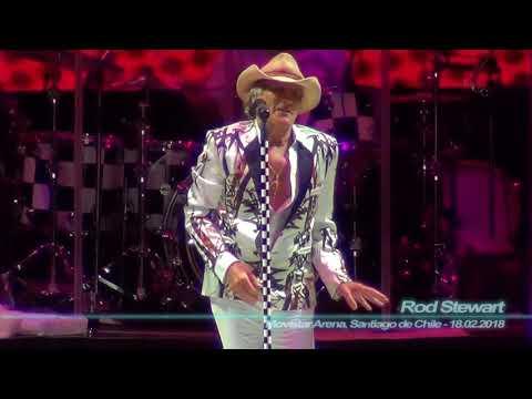 Rod Stewart - Baby Jane ( Movistar Arena, Santiago de Chile - 18.02.2018 )