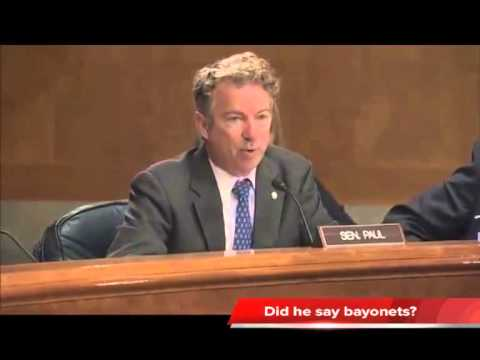 Rand Paul Militarization of Police