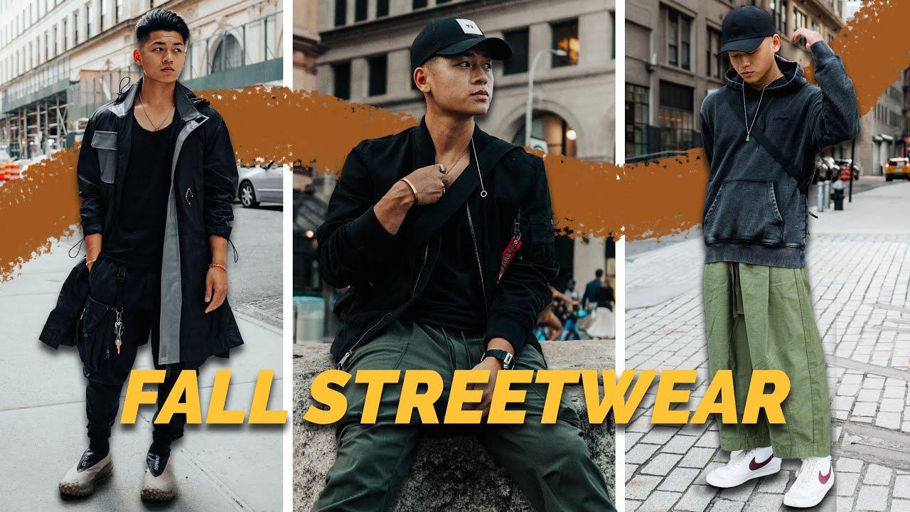 FALL STREETWEAR OUTFIT INSPIRATION | Fall Lookbook 2021