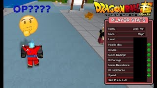 ROBLOX: Dragon Ball Final Stand- OP MAJIN STATS???
