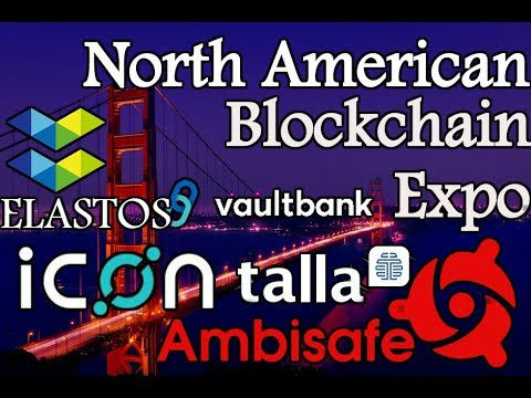 North American Blockchain Expo   Interviewing Elastos, Ambisafe, and Talla   Blockchain Will Rule!