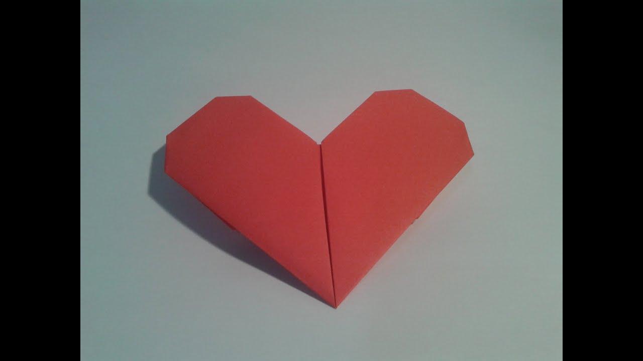 how to make valentine origami