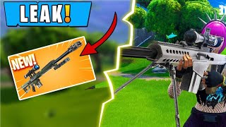 *NEW* HEAVY SNIPER RIFLE LEAKED GAMEPLAY! Fortnite Funny and ETF Moments #5