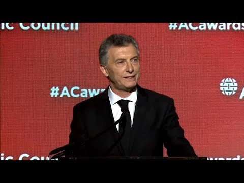 Macri recibió el premio Global Citizen Award 2018