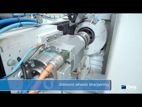 CMS ypsos - Diamond wheel sharpening