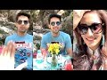 Erica Fernandes ROMANTIC Moments With BF Parth Samthaan In River - Live Video