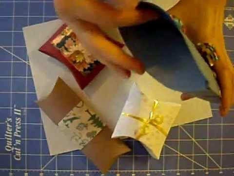 how to make a small gift box out of cardstock 2