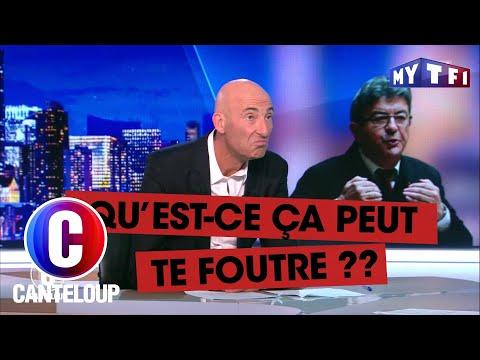 """""""Nul, nul, nul"""", Jean-Luc Mélenchon décrypte Le Grand Entretien - C'est Canteloup du..."""