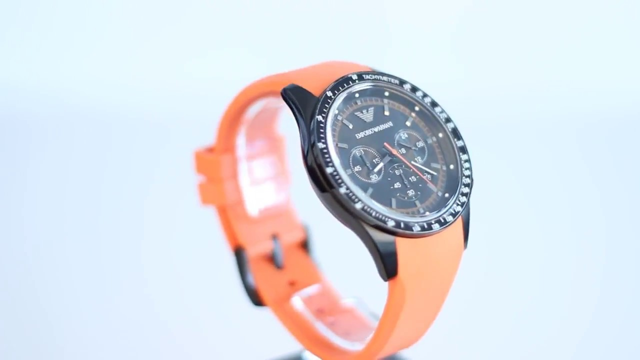 new concept great fit newest Emporio Armani watches AR5987 FULL HD VIDEO REVIEW, PRICE, SPORT, CLASSIC  WATCH