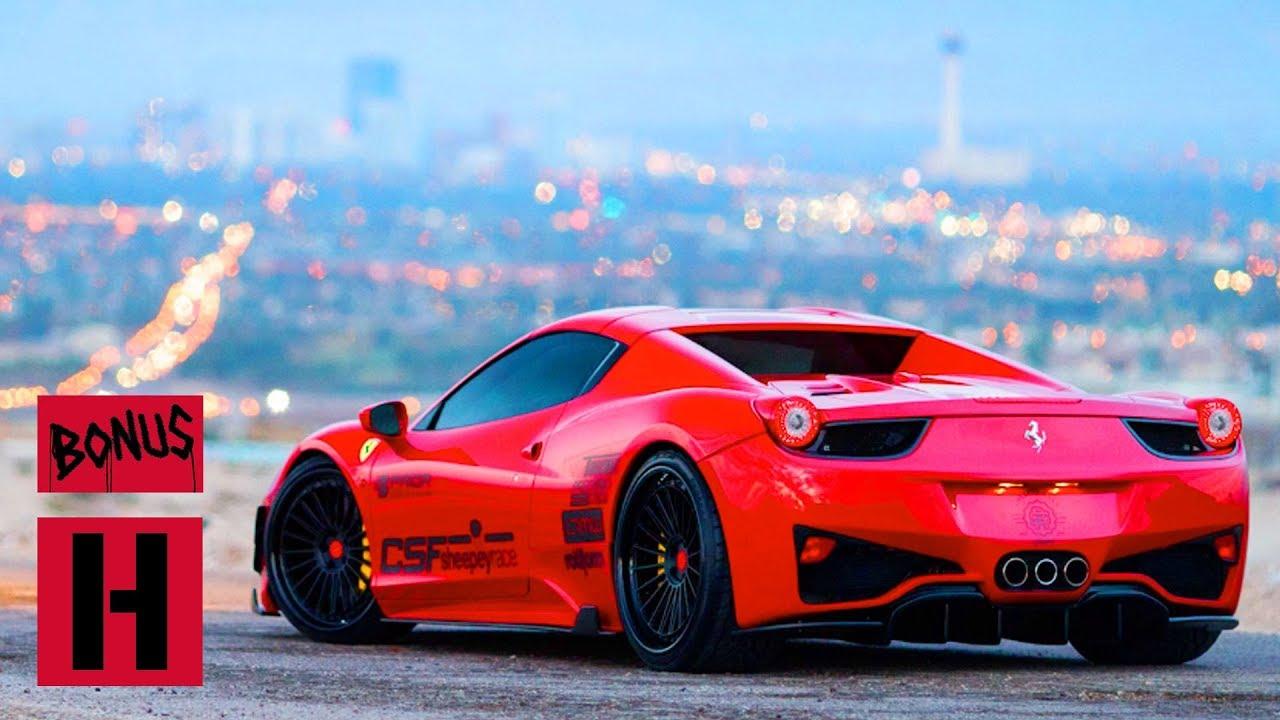 Larry Shoots Insane Csf Twin Turbo 458 Ferrari Spider Youtube