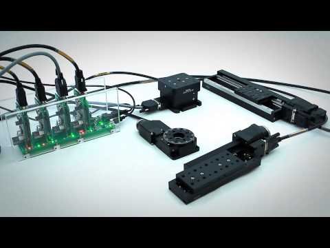 Stepper & DC Motor Controller - Motorized Positioners & Controllers