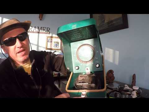Testing An Antique Fish Finder (Lowrance Fish-lo-kator)