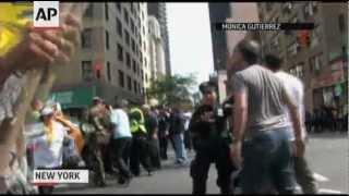 Raw: Iranian Diplomat Threatened in New York