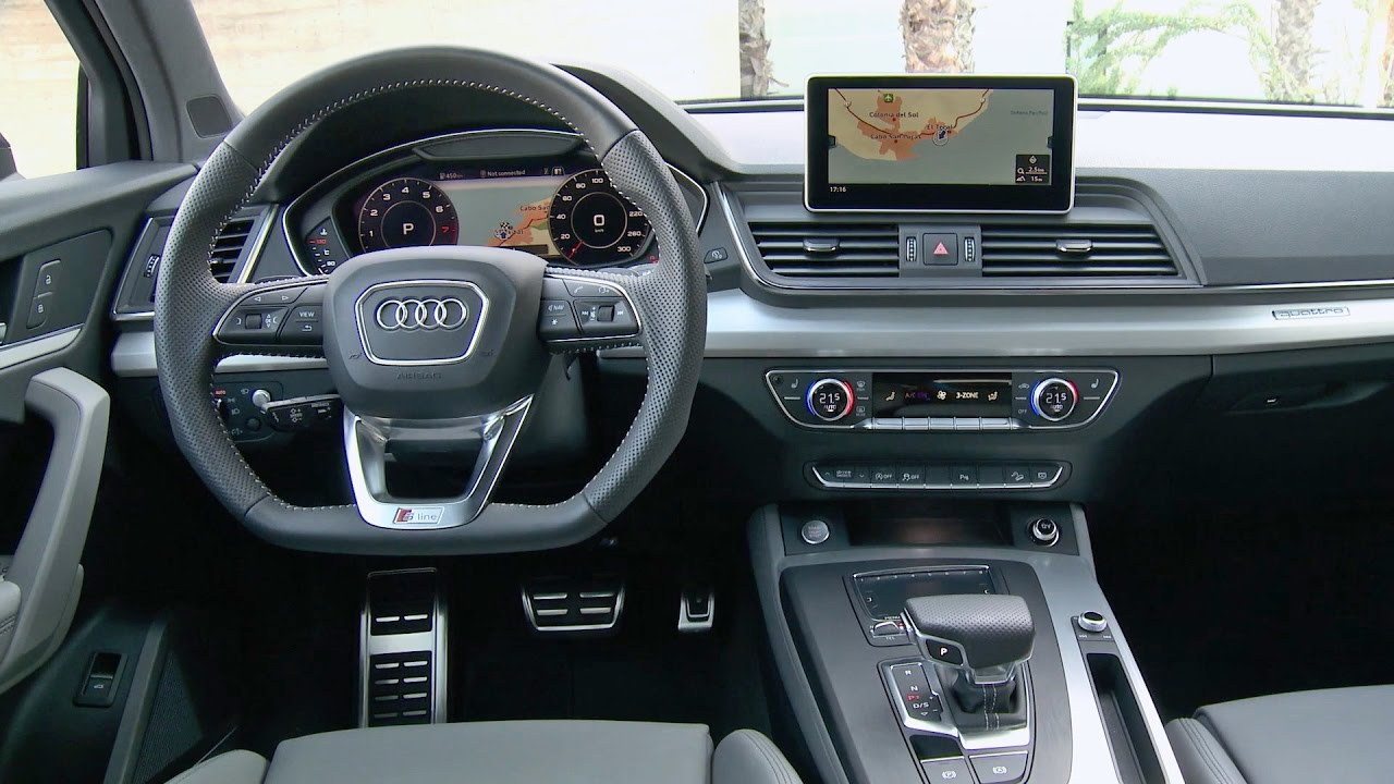 2017 audi q5 interior s line youtube. Black Bedroom Furniture Sets. Home Design Ideas