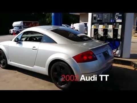 2002 Audi TT Test Drive
