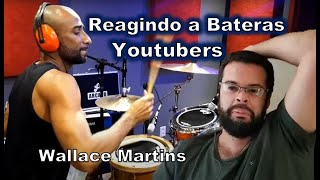 Reagindo Bateras Youtubers - Wallace Martins