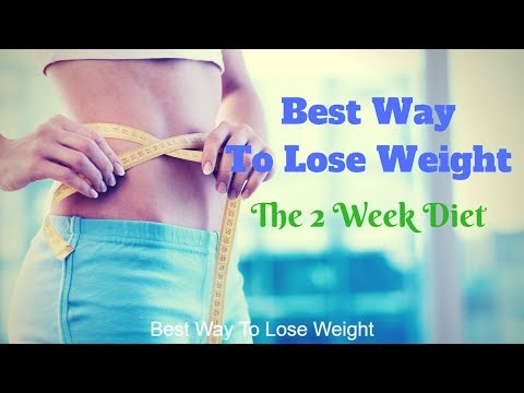 Best Way To Lose Weight – Without Exercise – 2 Week Diet