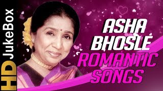 Asha Bhosle Romantic Songs | Asha Bhosle Superhit Video Songs Jukebox| | Bollywood Hindi Songs