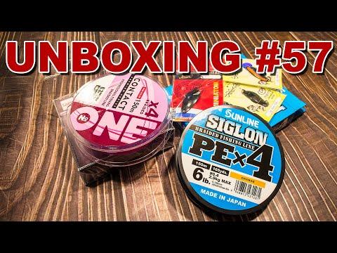 Unboxing Шнуры и колебалки от магазина spinningline, готовлюсь к летнему сезону