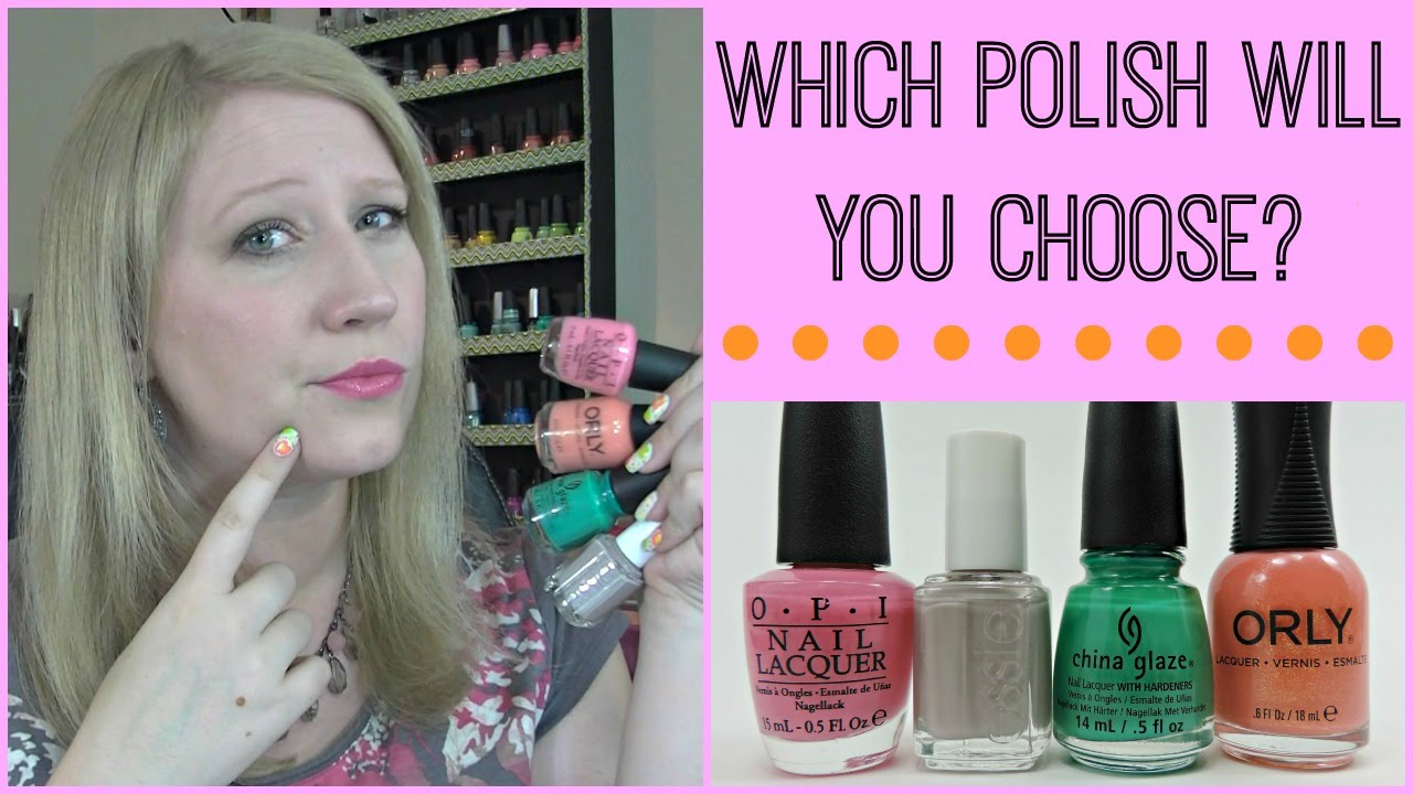 Back to Basics: What Nail Polish Brand is Best For Me? (OPI, China ...