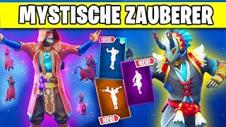 Wizards and Mystics New Skins, Dances and Leaks | Fortnite Season 6 Skins German German