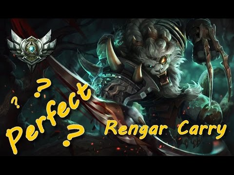 how to carry with rengar foxdroplol