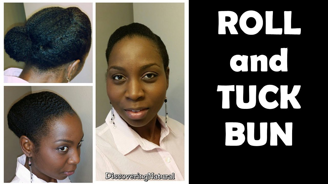 tuck and roll hair styles hairstyles for work roll and tuck bun on 7065