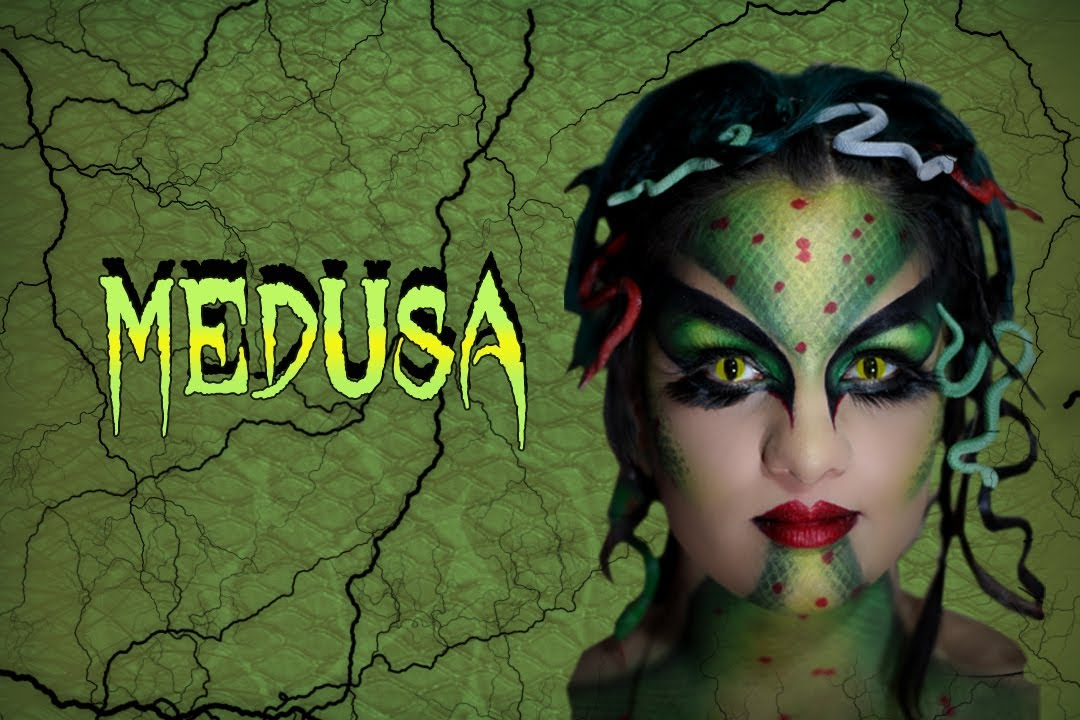 Halloween Makeup: Medusa - YouTube