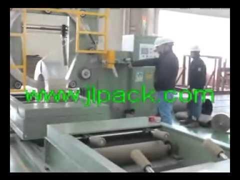 стальной рулон упаковочной машины/Китай Машина для производства упаковки для сплава сталь в рулонах