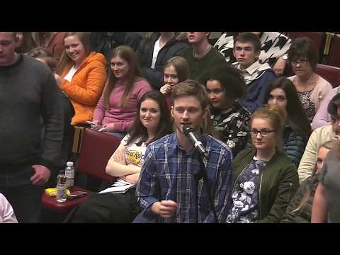 Q&A: Is Christianity Credible? | Queens University - Belfast, Ireland 2017
