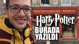 Harry Potter'ın Yazıldığı Kafeye Gittim ✍🏻⚡  Rowling'in Peşinde Üç Gün!