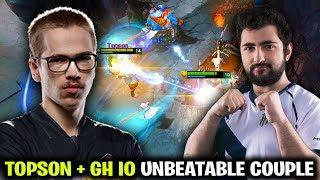 TOPSON + GH IO - 2 TI WINNER UNBEATABLE COUPLE