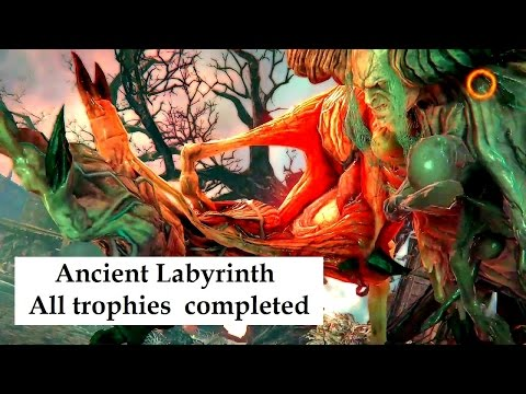 Ancient tool new purpose trophy Defeat Judge with weapon from Keeper Ancient Labyrinth Trophy list  