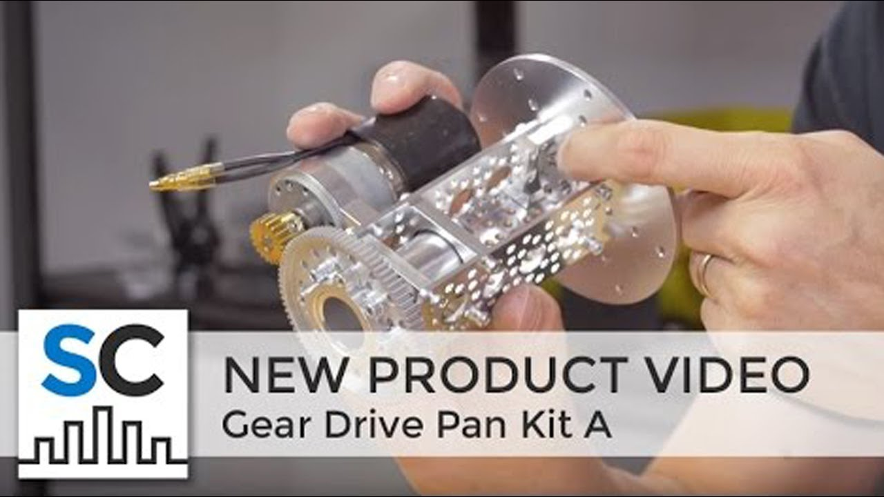 ServoCity Products: Gear Drive Pan Kit A