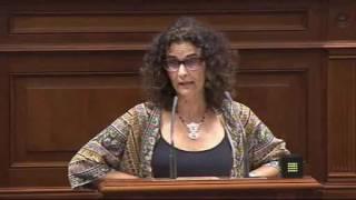 Asun Delgado (Podemos) sobre financiación de las Comunidades Autónomas II