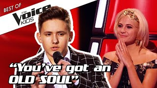 TOP 10 | Kids with an OLD SOUL light up in The Voice Kids